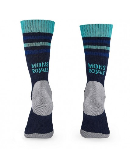 merino ponožky MONS SIGNATURE CREW SOCK