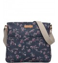 BRAKEBURN ROBIN BLOSSOM LARGE SADDLE BAG
