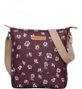 BRAKEBURN FLOATING FLORAL TEXTURED CROSS BODY