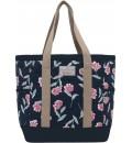 dámská plážová taška s motivem květin BRAKEBURN