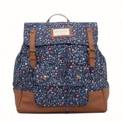 dámský batoh s motivem květin modrý BRAKEBURN