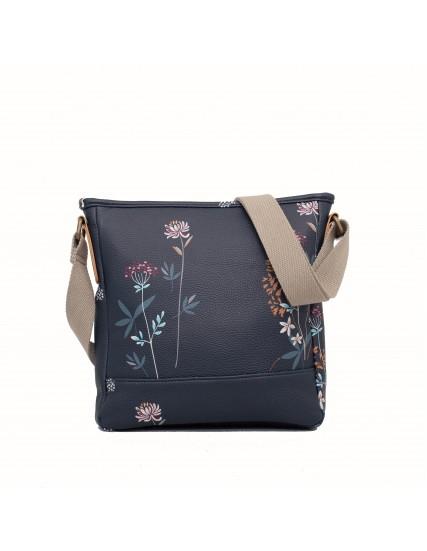 dámská kabelka modrá skvětinami BRAKEBURN