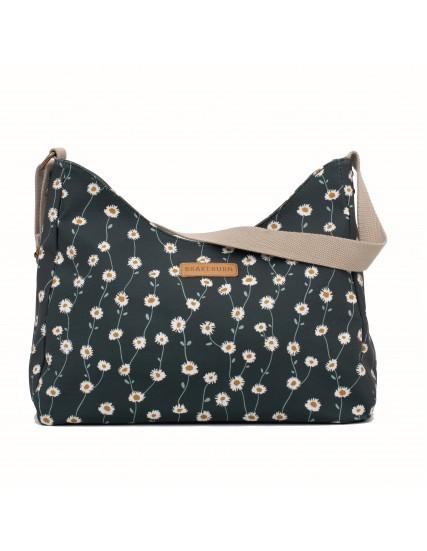 dámská kabelka s květy zelená BRAKEBURN