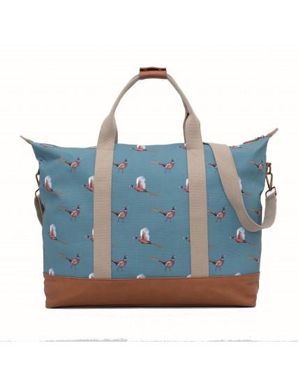 dámská taška modrá motiv bažant BRAKEBURN