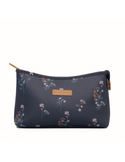 dámská větší kosmetická modrá taška BRAKEBURN