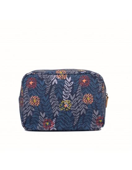 dámská kosmetická taška větší modrá BRAKEBURN