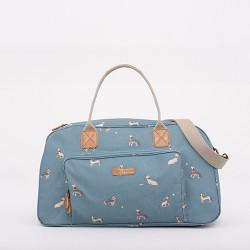dámská taška modrá jezevčíci BRAKEBURN