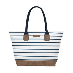 BRAKEBURN STRIPE TOTE BAG
