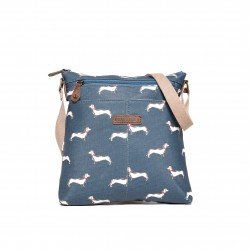 BRAKEBURN SAUSAGE DOG CROSS BODY BAG