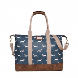 BRAKEBURN SAUSAGE DOG OVERNIGHT BAG