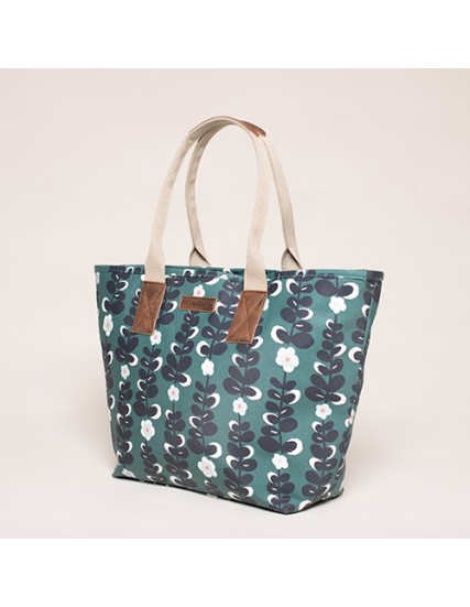 BRAKEBURN TRAILING FLOWER TOTE BAG