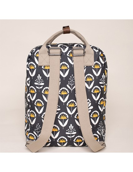 BRAKEBURN GEO FLORAL SQUARE BACKPACK