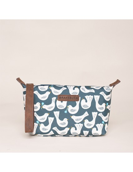 BRAKEBURN GEO BIRDS SMALL WASHBAG