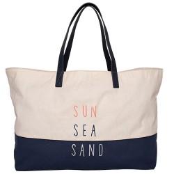 BRAKEBURN SUN SEA SAND BEACH BAG