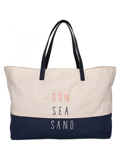 BRAKEBURN SUN SEA SAND BEACH BAG