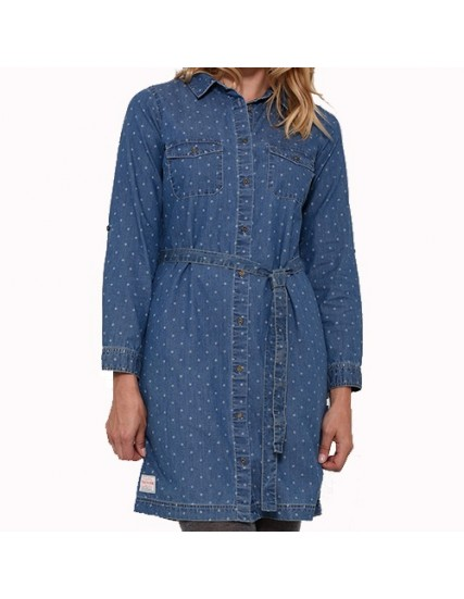BRAKEBURN PRINTED SHIRT DRESS