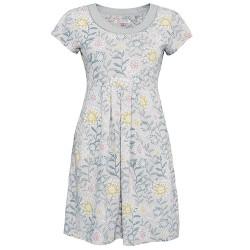 dámské květované šaty šedé BRAKEBURN