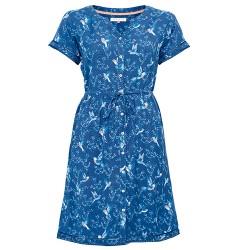 dámské košilové šaty modré BRAKEBURN