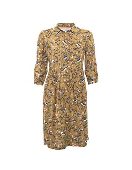 BRAKEBURN BIRD SONG SHIRT DRESS