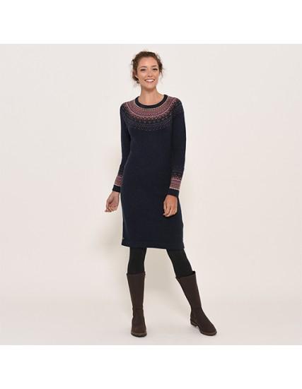 dámské pletené šaty FAIRISLE BRAKEBURN