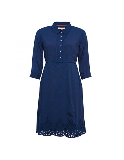BRAKEBURN BRODERIE ANGLAISE DRESS