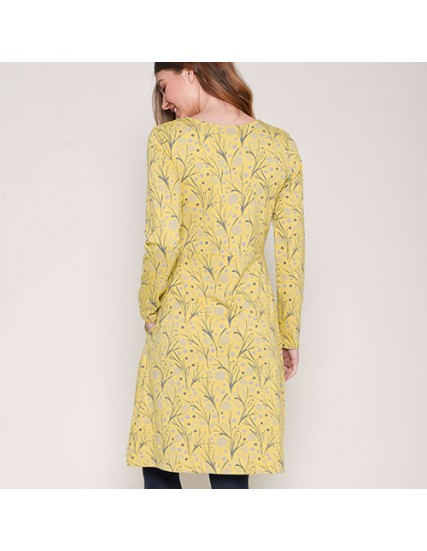BRAKEBURN DANDELION JERSEY DRESS