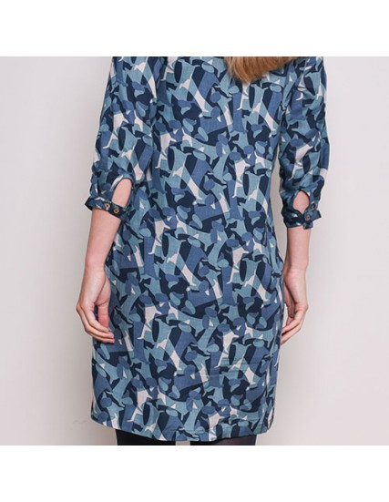 BRAKEBURN SAUSAGE DOG SHIFT DRESS