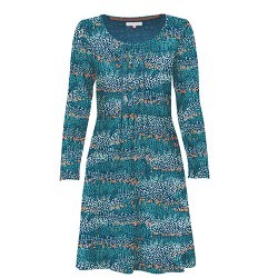 BRAKEBURN HEATHER PLEATED DRESS