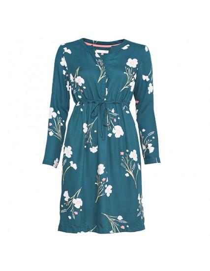 BRAKEBURN POSEY TWILL SHIRT DRESS