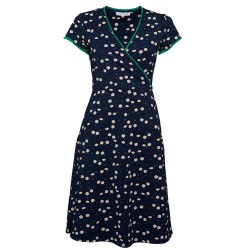 BRAKEBURN DAISY WRAP DRESS