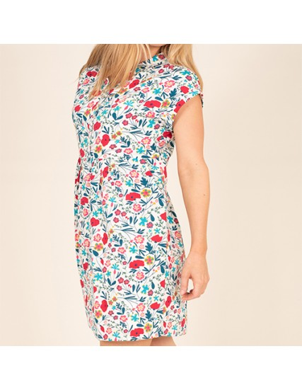 BRAKEBURN BOTANICAL SHIRT DRESS