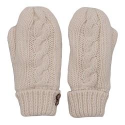 dámské rukavice pletené béžové BRAKEBURN