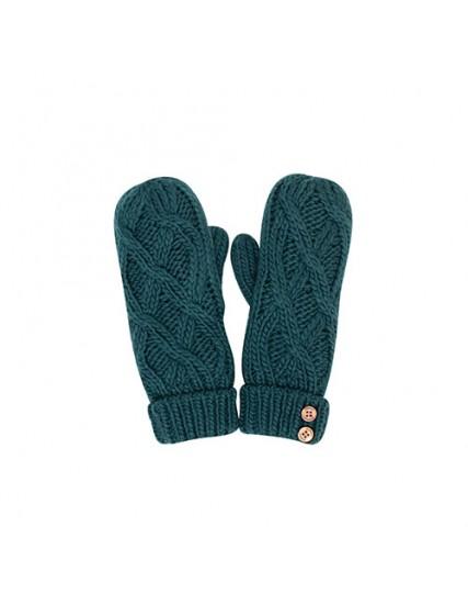 dámské rukavice zelené CABLE BRAKEBURN