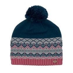 dámská pletená vzorovaná čepice BRAKEBURN