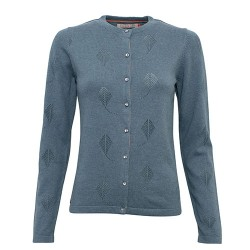 BRAKEBURN KITE POINTELLE CARDIGAN