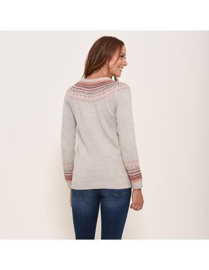dámská svetr pletený FAIRISLE  BRAKEBURN