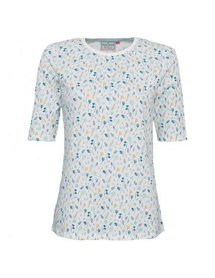 dámské květované triko kratší rukáv BRAKEBURN