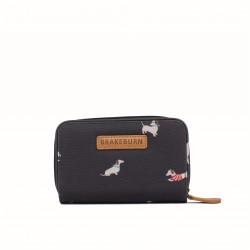dámská peněženka šedá s jezevčíky BRAKEBURN