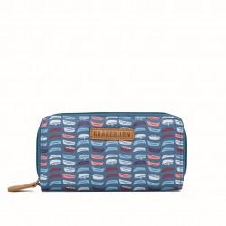 dámská peněženka modrá s motivem loď BRAKEBURN