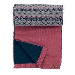 dámská pletená vzorovaná šála BRAKEBURN