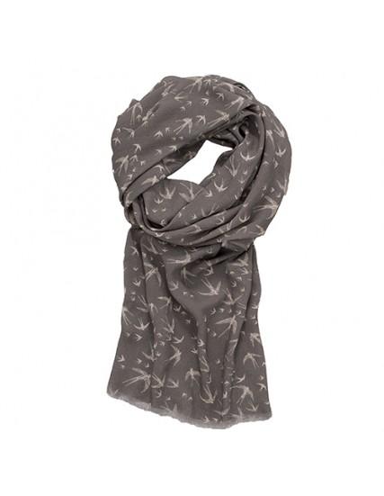 dámský šátek s motivem vlaštovky BRAKEBURN
