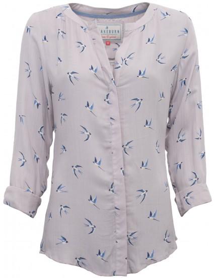 dámská košile s motivem vlaštovky BRAKEBURN