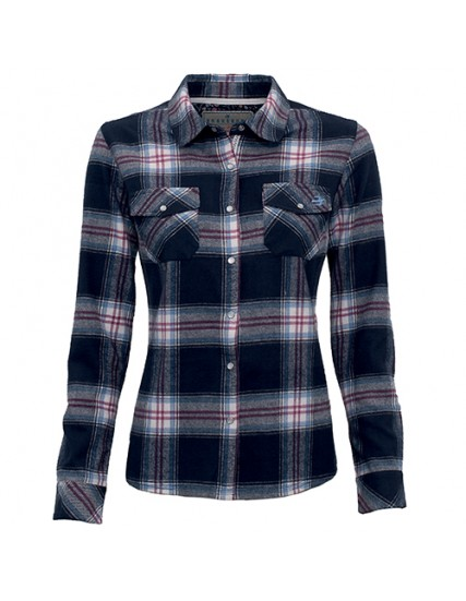 dámská kostkovaná košile  modrá BRAKEBURN