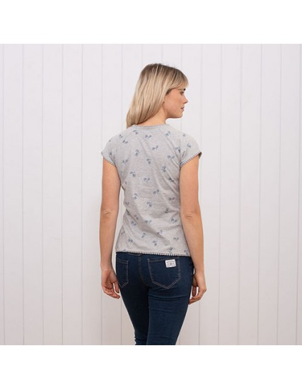 dámské tričko s potiskem kola BRAKEBURN