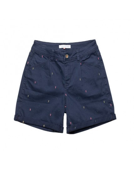 BRAKEBURN EMBROIDERED SHORTS