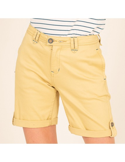 BRAKEBURN TURN UP CHINO SHORTS