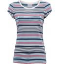 dámské tričko s barevnými pruhy BRAKEBURN