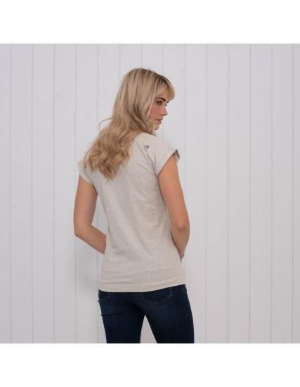 dámské tričko s výšivkou kola a racky BRAKEBURN