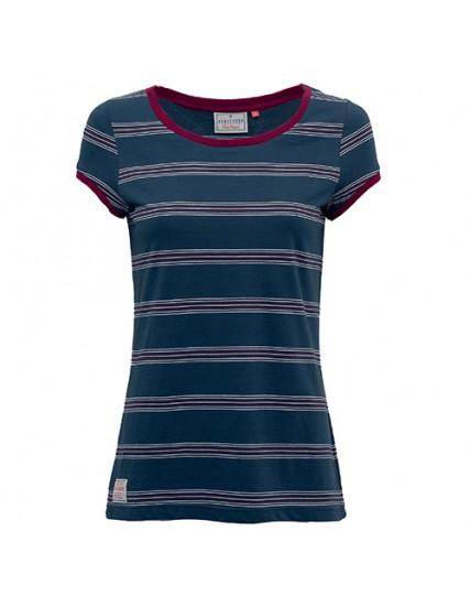 dámské pruhované modré tričko BRAKEBURN