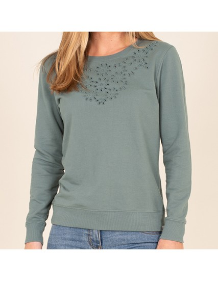 BRAKEBURN BRODERIE SWEAT